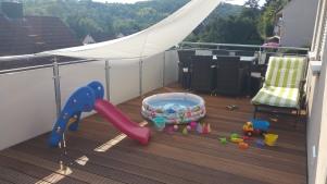 Terrasse zum Spielen